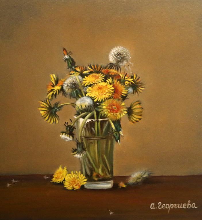 Откровение Изложба-живопис на Антоанета Георгиева