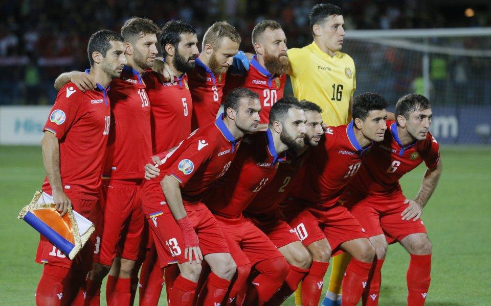 Окрилена Армения шокира Северна Македония и ще играе в Лига B
