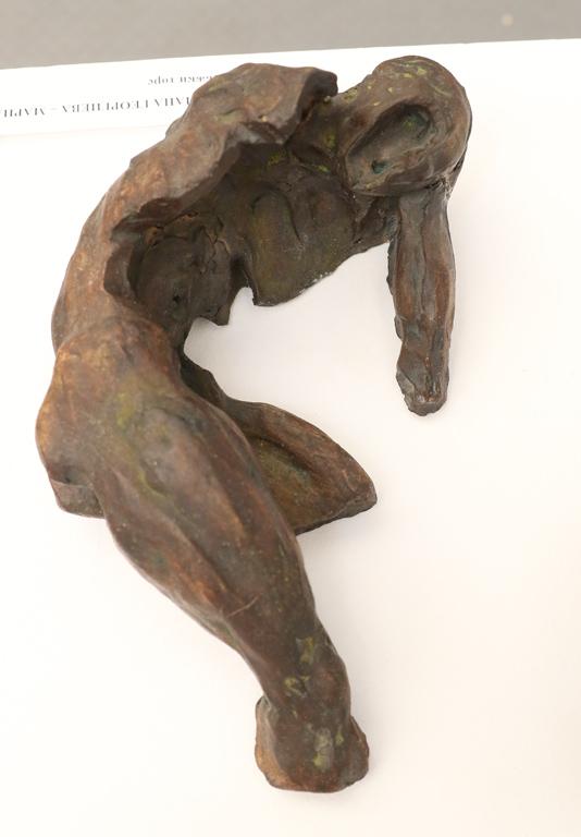 <p>Мариана Георгиева - Марна &quot;Мъжки торс&quot; Изложбата може да бъде видяна до 27 септември 2019 г. в галерия &quot;Райко Алексиев&quot; на ул. &quot;Раковски&quot; 125, София</p>