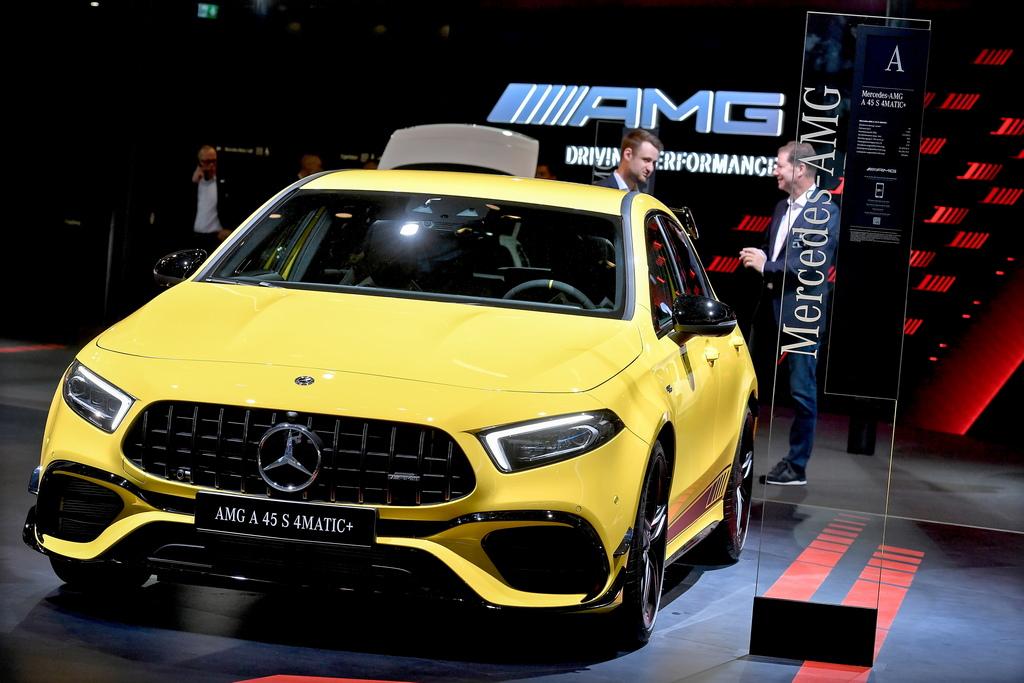 <p>Mercedes-Benz AMG A 45 S 4MATIC+</p>