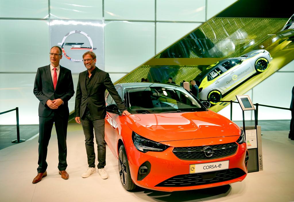 <p>Opel Corsa-E</p>