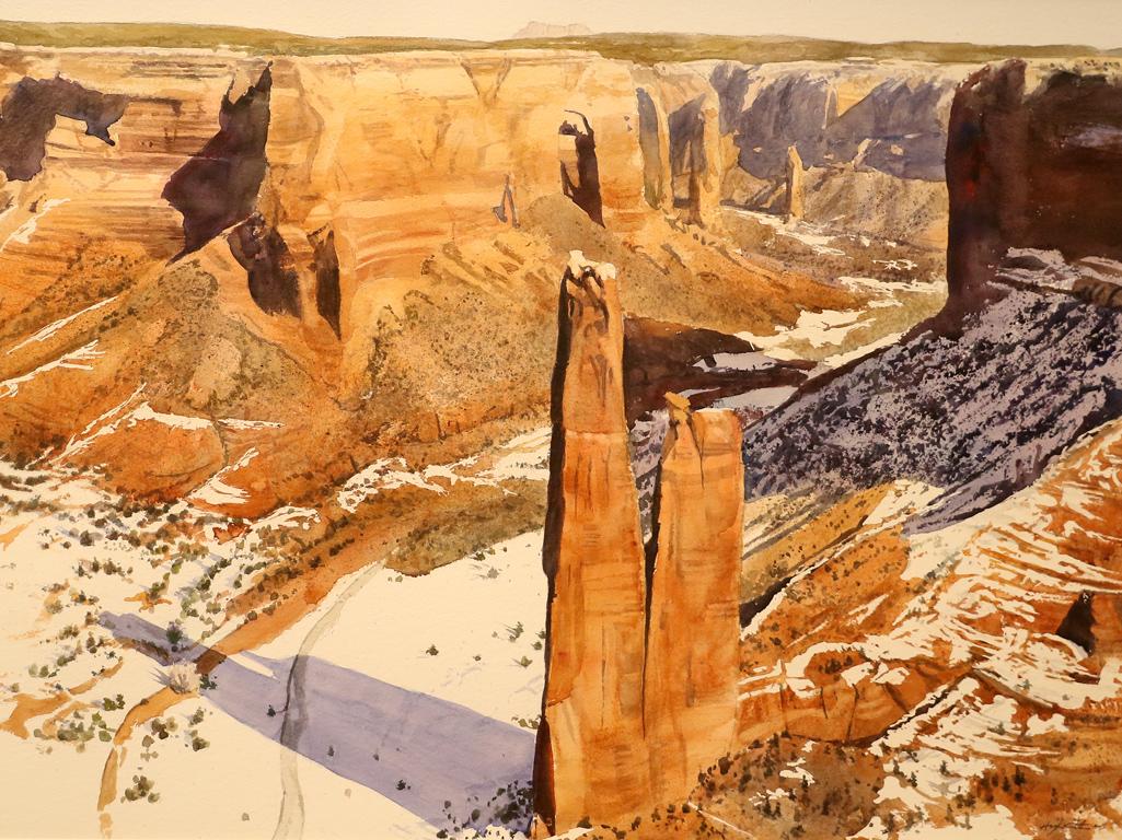 <p>&quot;Сянката на каньона&quot; от Робърт Хайсмит, САЩ</p>