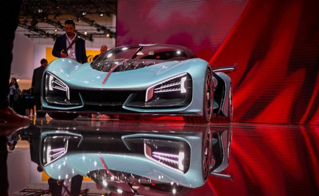 Китайски супер хибрид е по-бърз от Bugatti Chiron