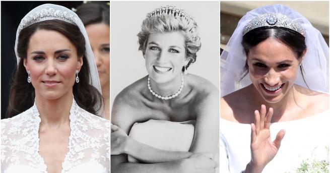 Тиарите са сред най-ценните бижута на британското кралско семейство. Те
