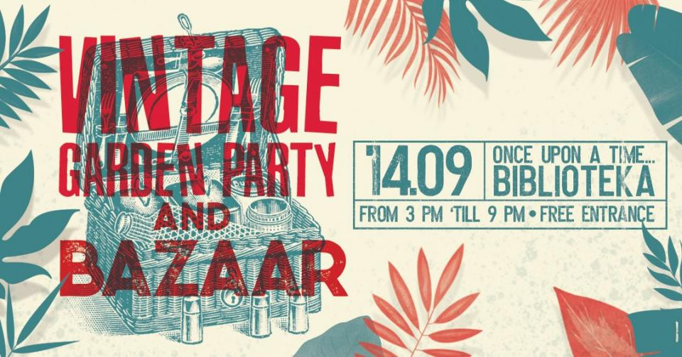 Vintage Garden Party & Bazaar