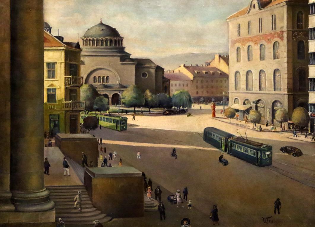 <p>Иван Гецов - Църквата &quot;Света Неделя&quot;, 1942</p>