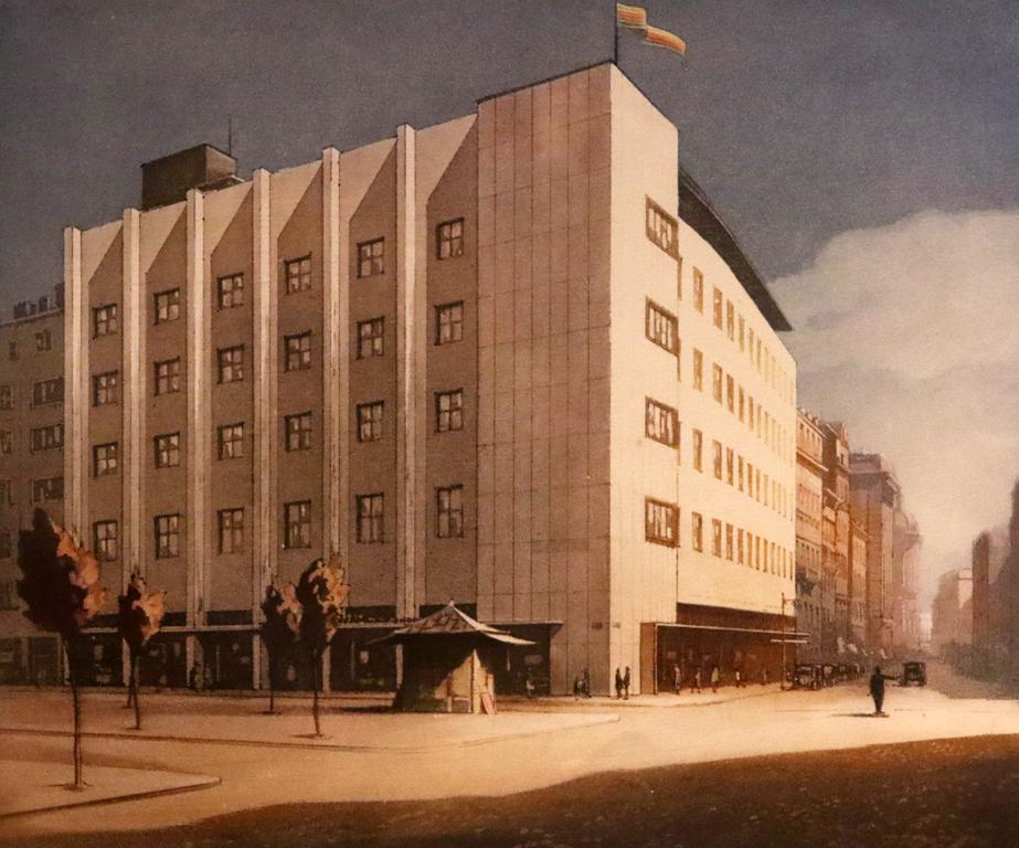 <p>Петър Морозов - Съюзът на Популярните банки в София, 1935г. на ъгъла на ул. &quot;Граф Н. Игнатиев&quot; и ул. &quot;Георги С. Раковски&quot;</p>