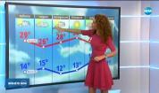Прогноза за времето (13.09.2019 - централна емисия)