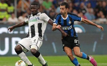 Интер продължава да диктува темпото в Италия