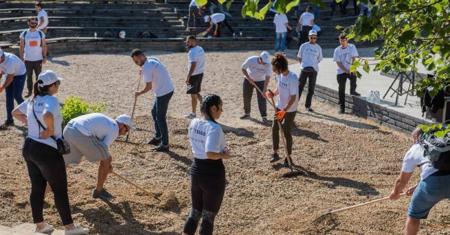 Любопитно Над 900 доброволци обновиха столичния зоопарк В рамките на