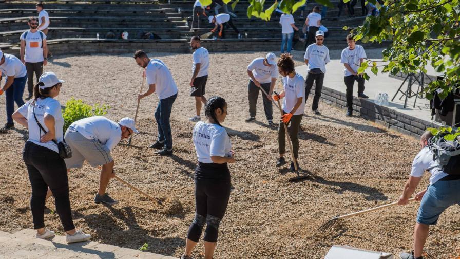 Над 900 доброволци обновиха столичния зоопарк