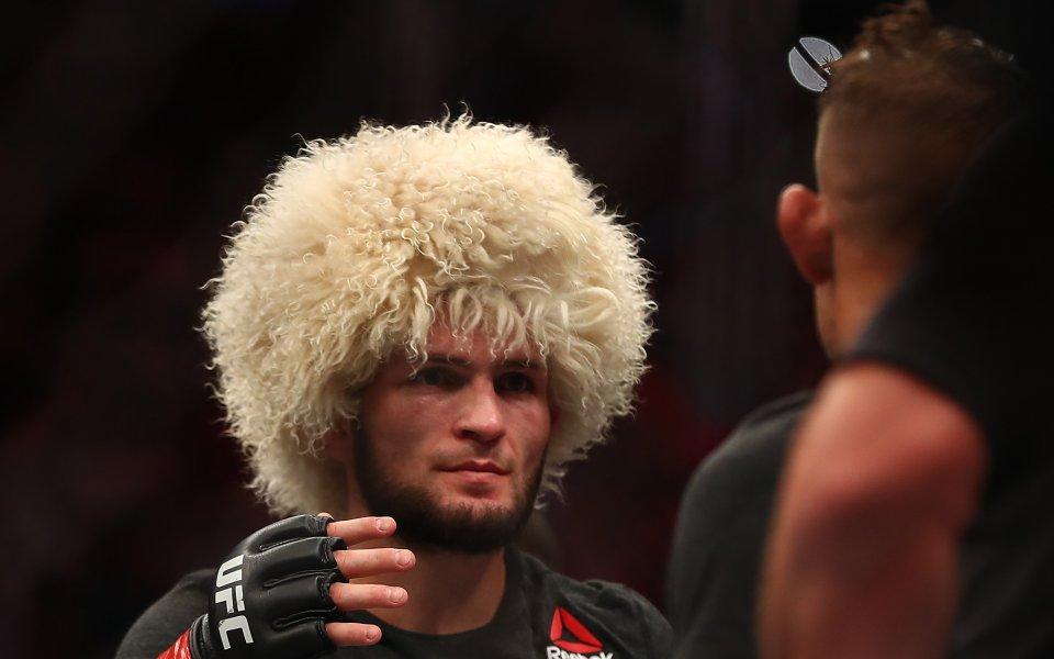 Безспорният непобеден шампион в лека категория Хабиб Нурмагомедов e изпълнил