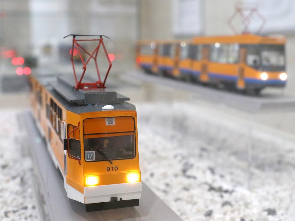 """Софийските трамваи на длан"""