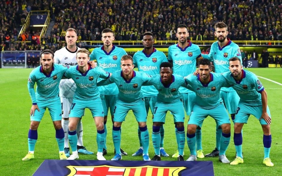 Ръководството на испанския шампион Барселона обяви, че клубът ще бъде