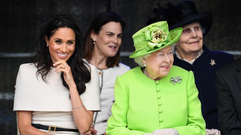 Меган кралица Елизабет