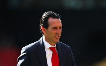 Емери пратил звездите на Арсенал да се сплотяват след провала срещу Уотфорд