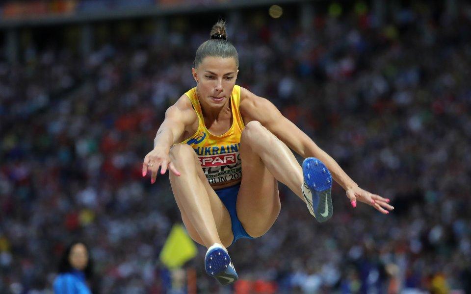 Сребърната медалистка в скока на дължина от Европейското първенство в