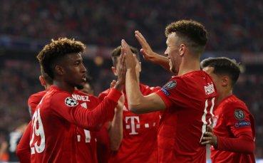 Звезда се опъна, но накрая се огъна срещу Байерн Мюнхен
