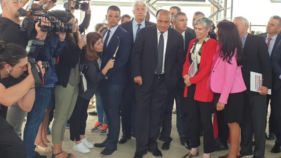 Борисов от Пловдив за Русия и САЩ