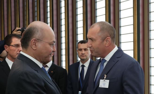 Румен Радев и Бархам Салих