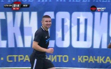 Мартин Петков няма спирка, за секунди пак наказа Спартак