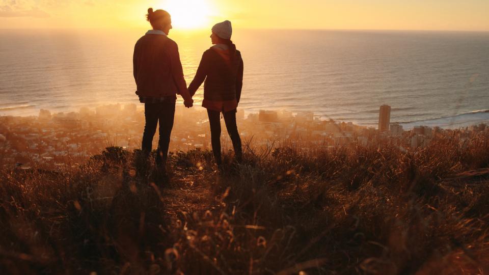 любов връзка двойка