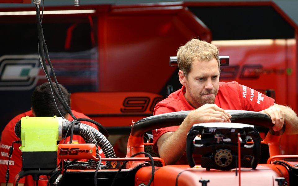 Фетел: Грешно е да се мисли, че Ферари може да печели навсякъде