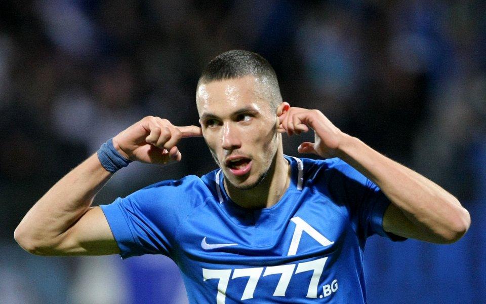 Младата звезда наЛевскиСтанислав Ивановполучи наградата за играч на десетия кръг