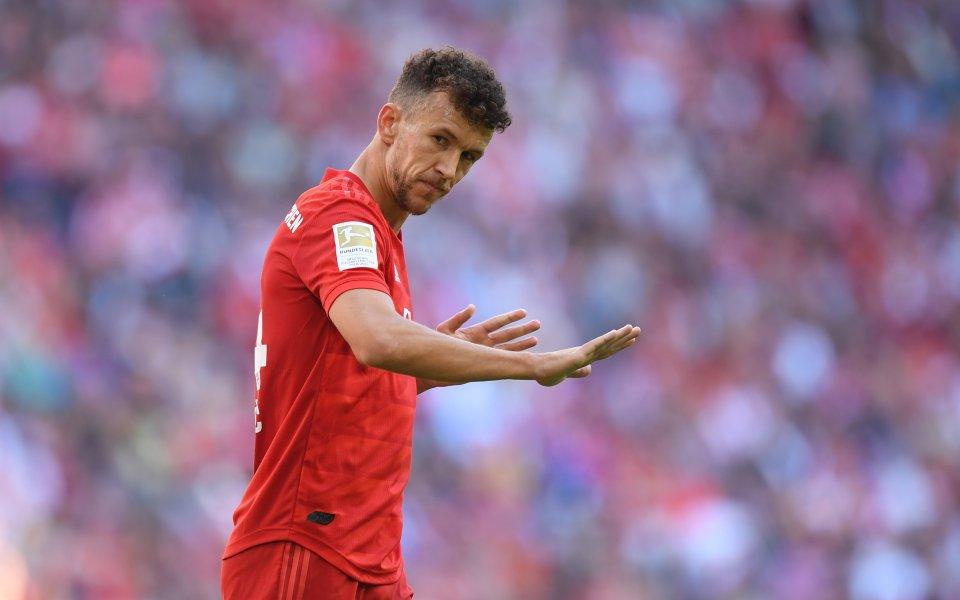 Шампионът Байерн Мюнхен ще бъде без хърватина Иван Перишич в