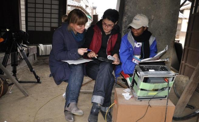 Катя Тричкова по време на Kyoto Filmmakers Lab