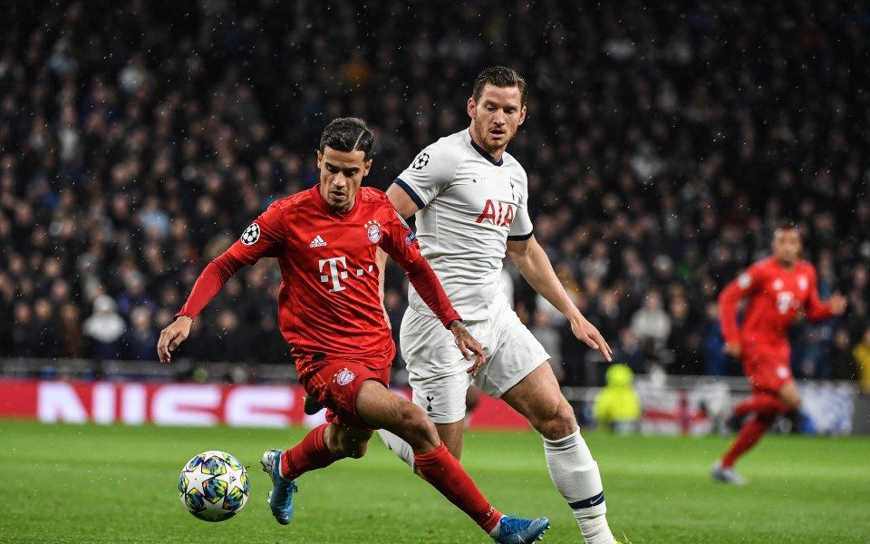 Английският Тотнъм приема Байерн Мюнхен в двубой от 2-ия кръг