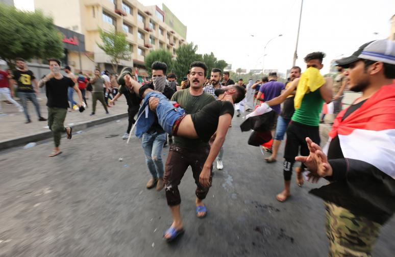 Ирак протести