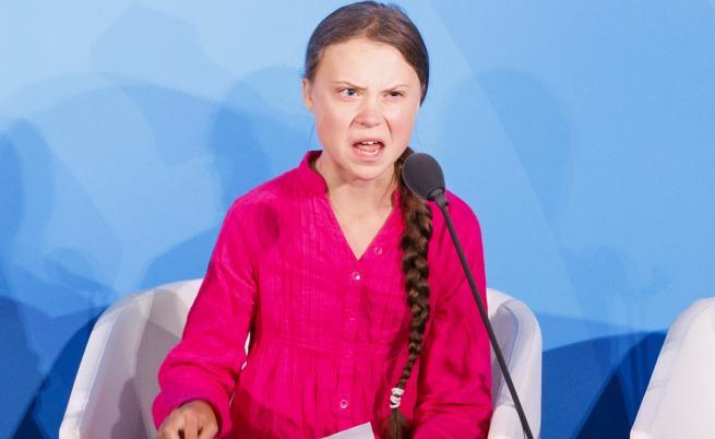 """Болсонаро нарече Грета Тунберг """"хлапачка"""""""