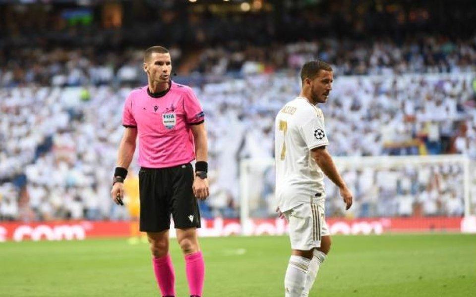 След Реал Мадрид Кабаков ще свири на Лудогорец и Левски
