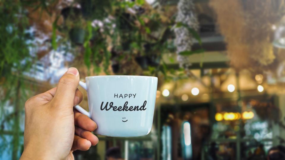 уикенд почивка чаша кафе чай