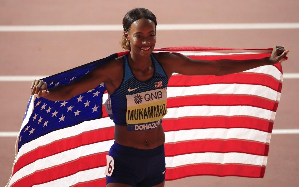 Далайла Мухамад със световен рекорд на 400 м с препятствия