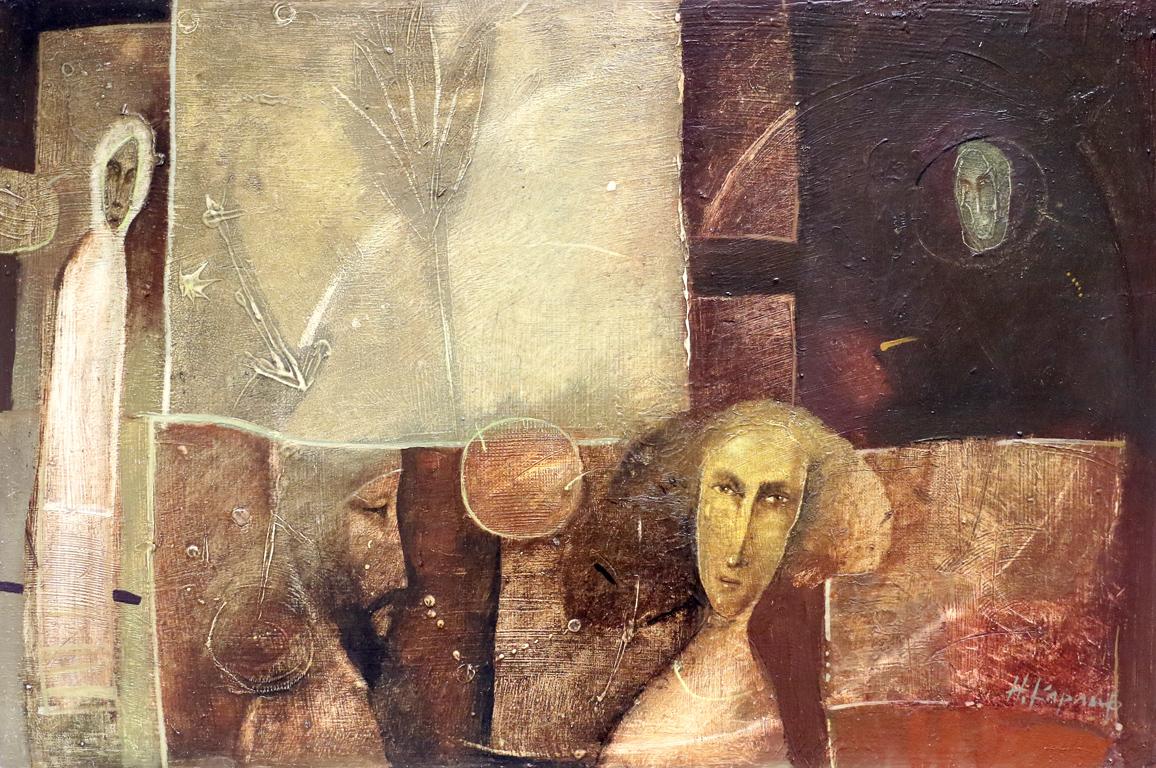 <p>Изложба на Кольо Карамфилов в Артгалерия НДК</p>