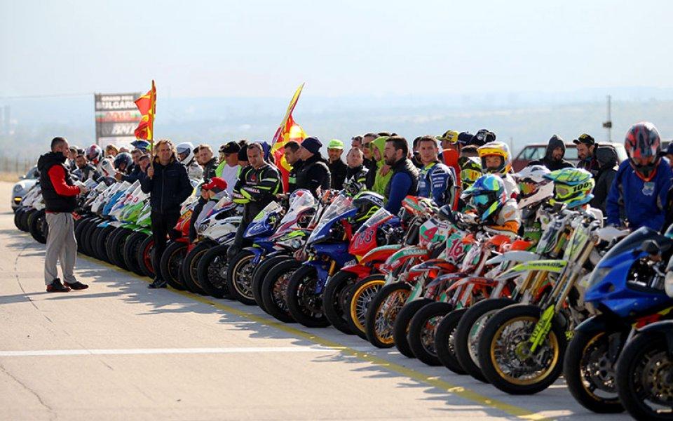 Станаха ясни шампионите на България от мотоциклетния пистов шампионат