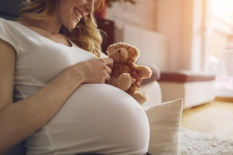 бременна