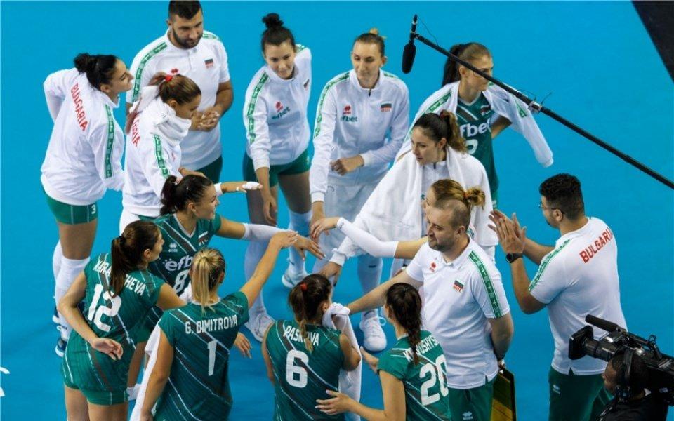 България надви Хърватия във втората контрола