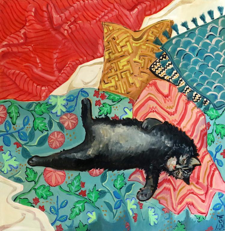 <p>Изложба живопис на Гергана Димитрова &quot;Сън&quot; &ndash; масло върху платно</p>