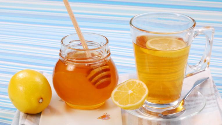 мед лимон напитка чай отвара