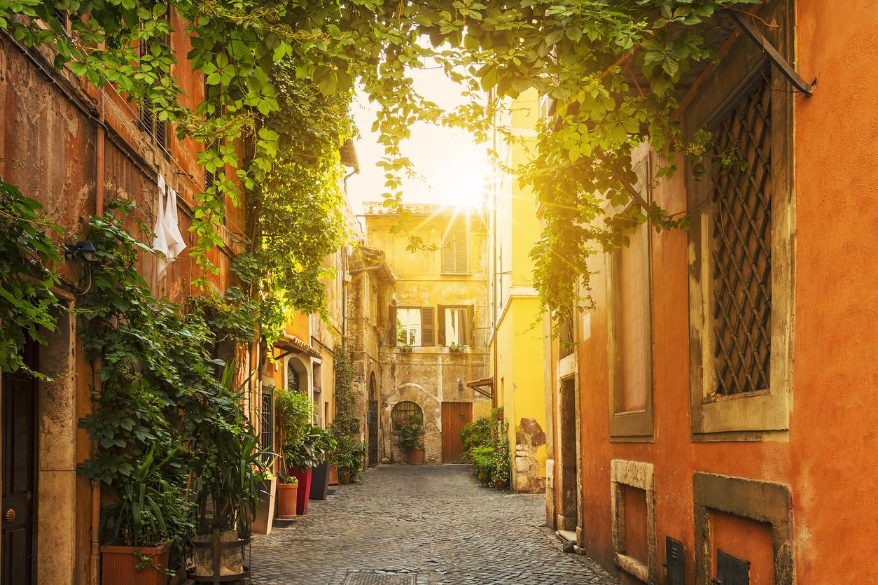 <p>Трастевере &ndash; един от най-красивите квартали на Рим</p>