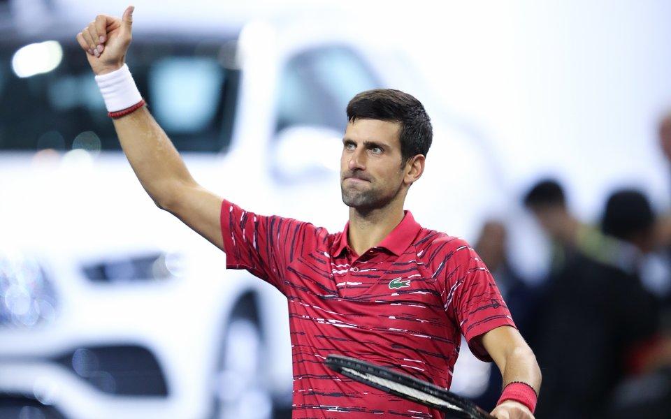 Световният номер 1 Новак Джокович достигна четвъртфиналите на тенис турнира