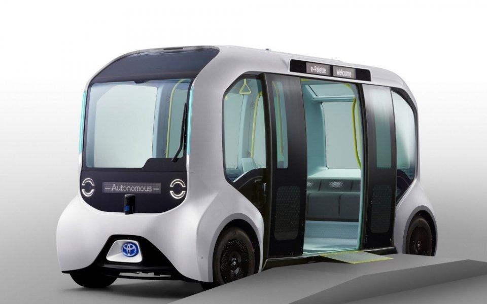 Toyota представи цял куп превозни средства за Олимпийските и Параолимпийските