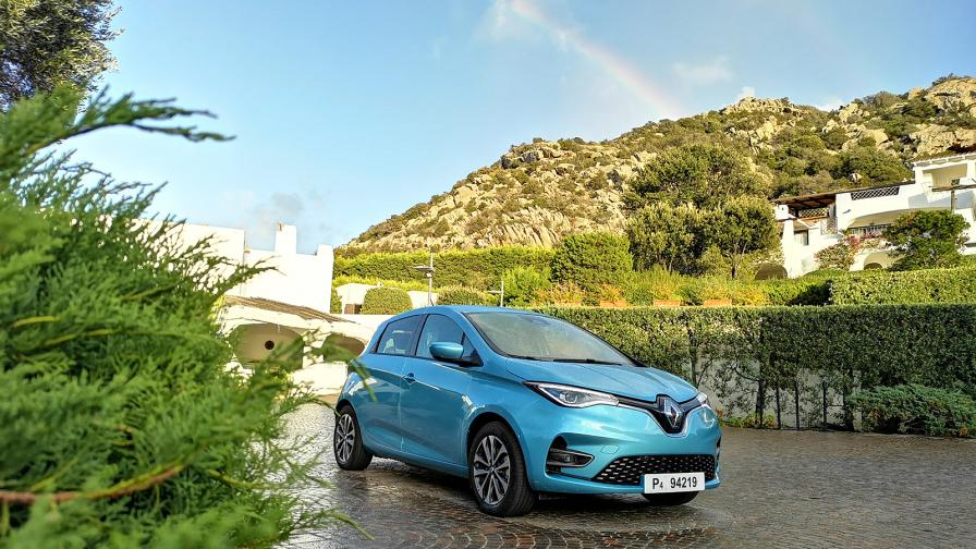 Френски шик на ток: тестваме електрическото Renault Zoe