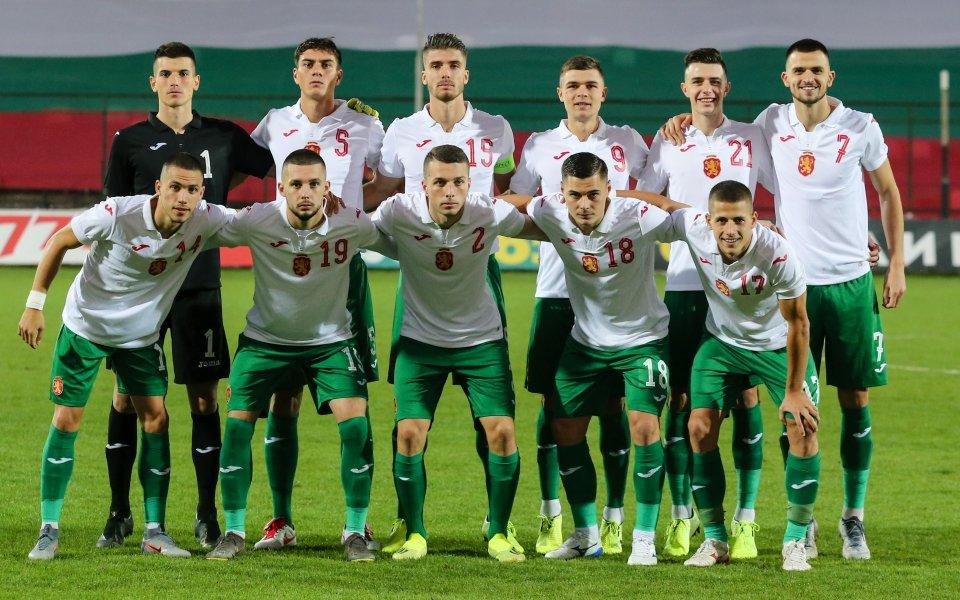 Лидерът в групата на България в европейските квалификации до 21-годишна
