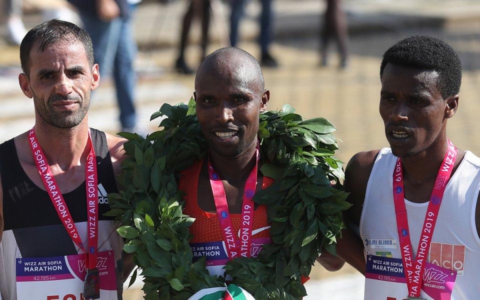 Кениецът Хосеа Туей триумфира в тазгодишното издание на Софийския маратон.