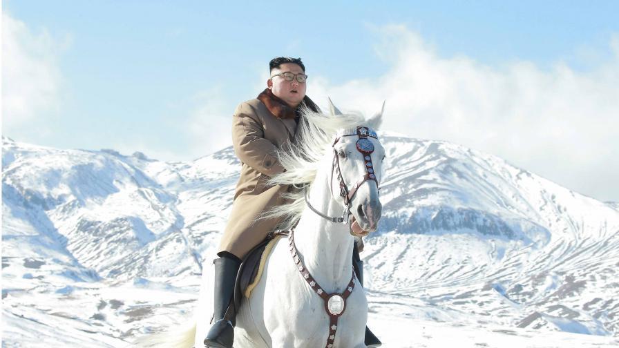 Севернокорейският лидер Ким Чен-ун
