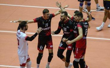 Нефтохимик съкруши ЦСКА в първия мач от защитата на титлата